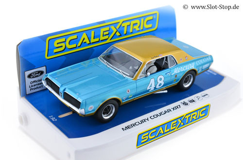 Scalextric Mercury Cougar XR7  #48