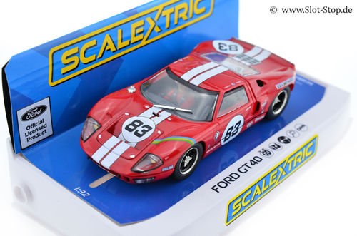 Scalextric Ford GT40 'red'  -  #83