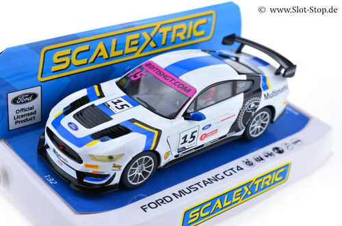 Scalextric Ford Mustang GT4  #15